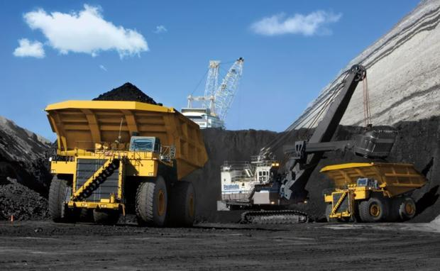 File photo: Coal in the Powder River Basin.