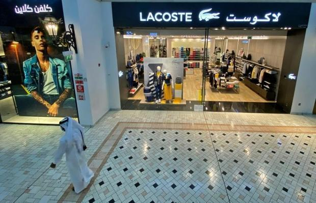 A Qatari resident showed AFP an illustrated cheat-sheet of 100 French brands to boycott  including E...