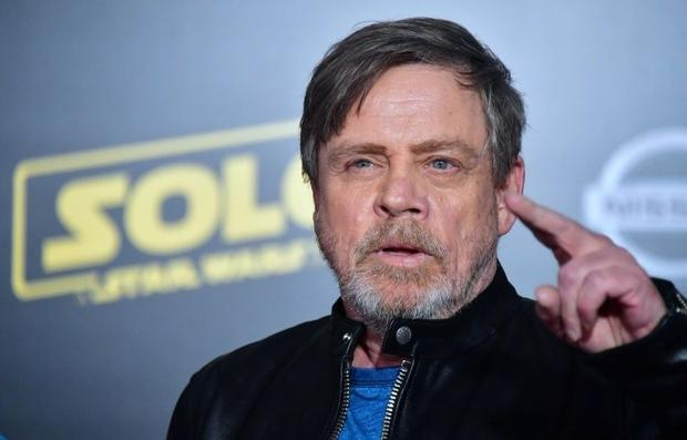Actor Mark Hamill arrives for the premiere of 'Solo: A Star Wars Story' in Hollywood  Cali...