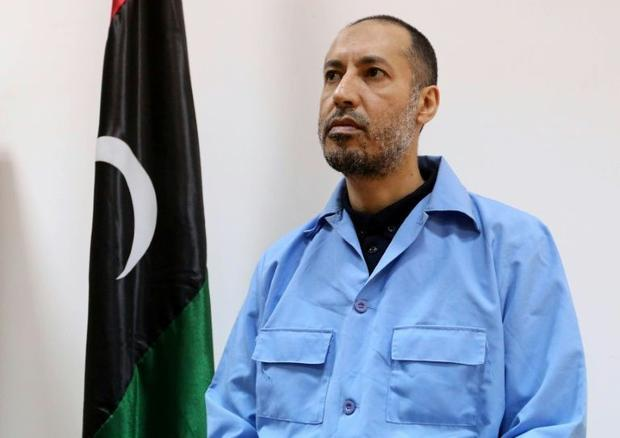 Saadi Kadhafi  once a professional footballer  is currently held in a Tripoli prison