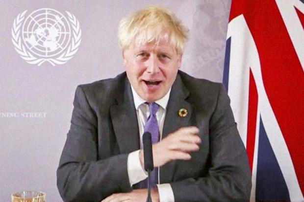 Britain's Prime Minister Boris Johnson may find climate action to be his trump card to salvage ...
