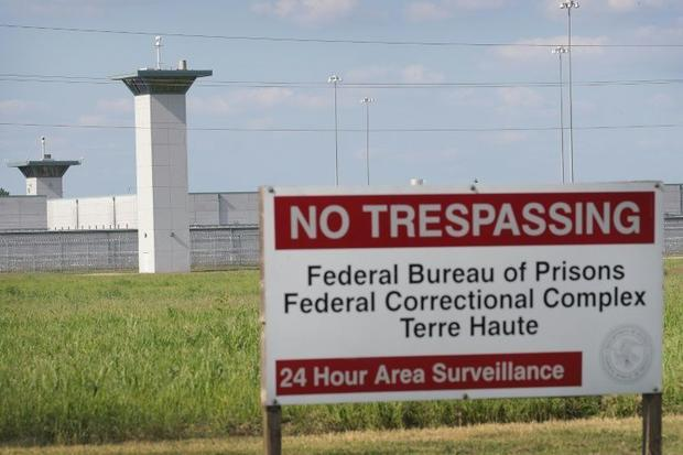 Terre Haute prison in Indiana  where Montgomery faces execution