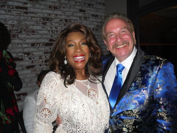 Mary Wilson and Mark Bego