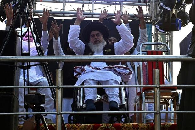 Pakistani hardline cleric Khadim Hussain Rizvi gained mass support and rose to become one of the cou...