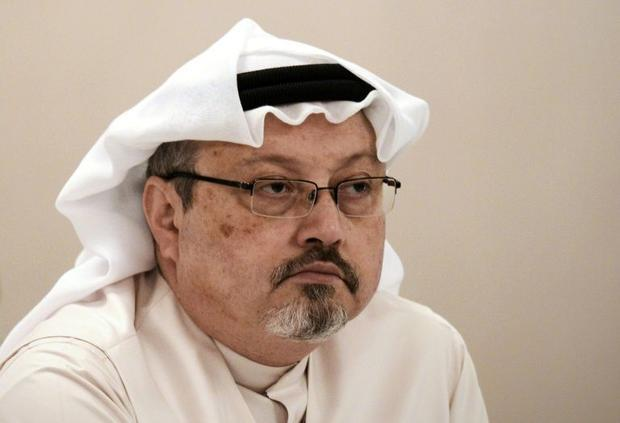 Saudi journalist Jamal Khashoggi  who was murdered by Saudi agents in the country's consulate i...