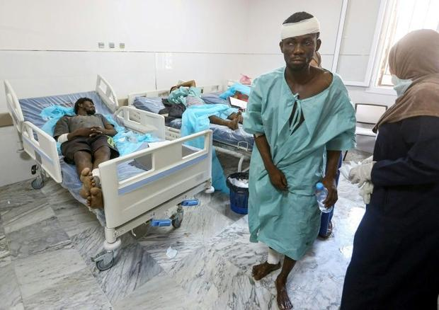 Rights groups say migrants face horrific abuses in Libya