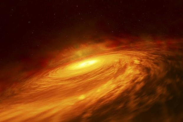 Up to now  black holes with mass 100 to 1 000 times that of our Sun have never been found