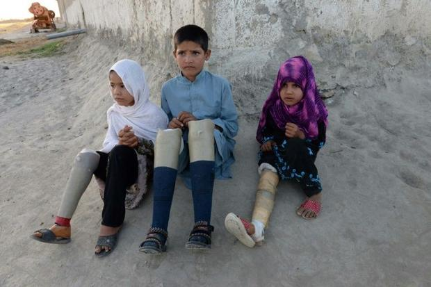 Afghanistan accounted for nearly half of all civilian casualties in a list of six countries at war  ...