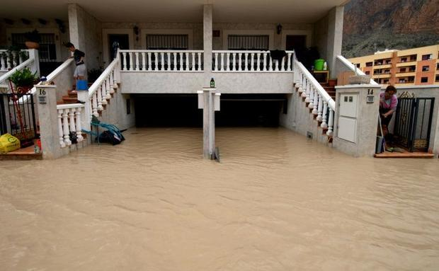 The flooding and heavy rains have forced some 3 500 people out of their homes