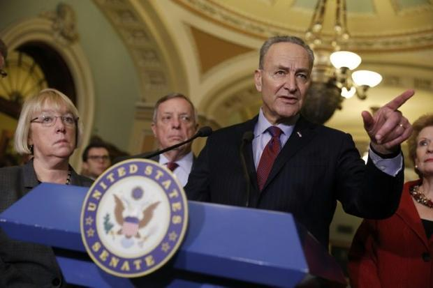Senate Democrats  with new leader Chuck Schumer  have slow-walked all President Donald Trump's ...