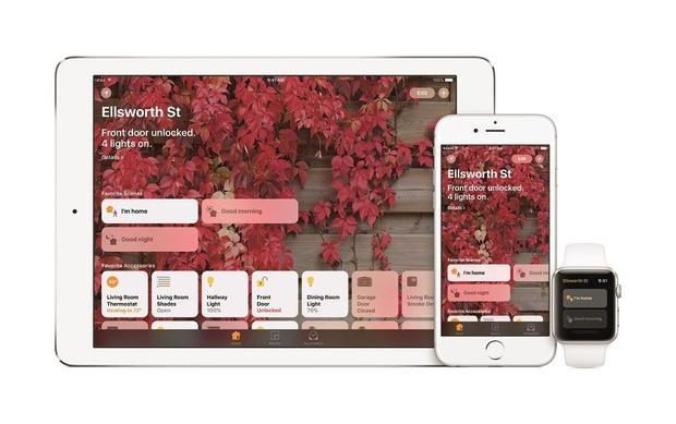 Official press images of Apple s iOS 10  announced 13/06/2016. This is the new Home app for home aut...