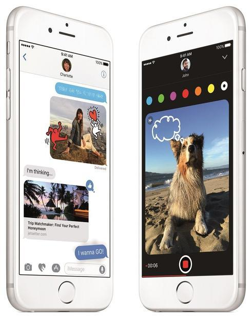 Official press images of Apple s iOS 10  announced 13/06/2016