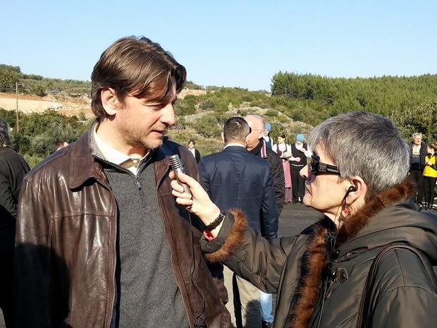 Minister of Tourism Darko Lorencin interviewed by Radio Split.