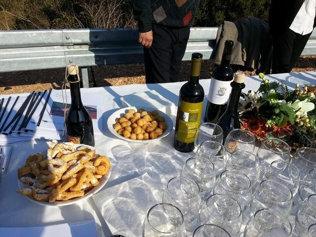 Local wines with great international repuations were served at the official opening  including Caric...