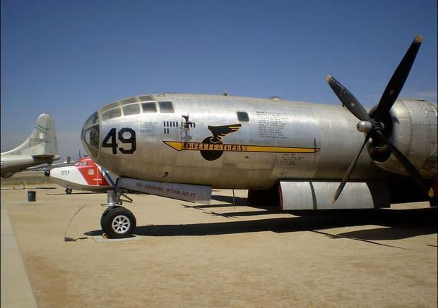 Boeing B-29  Superfortress  bomber displayed at March Field Air Museum  Riverside  CA in 2007.