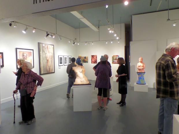 A Passion For The Figure  exhibit had a well attended opening reception on Saturday evening  Sept. ...