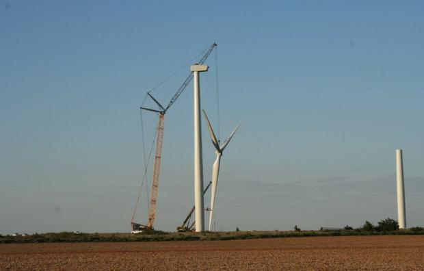 Construction of wind turbine