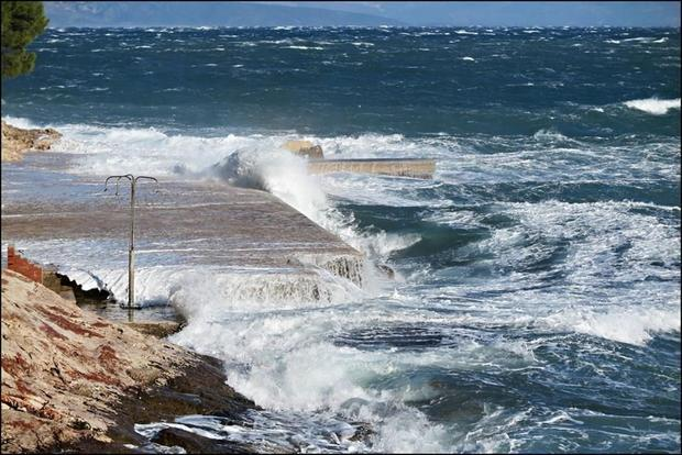 While Hvar is famous for its sun  the powerful northern Bura wind has been prevalent  bringing cold ...