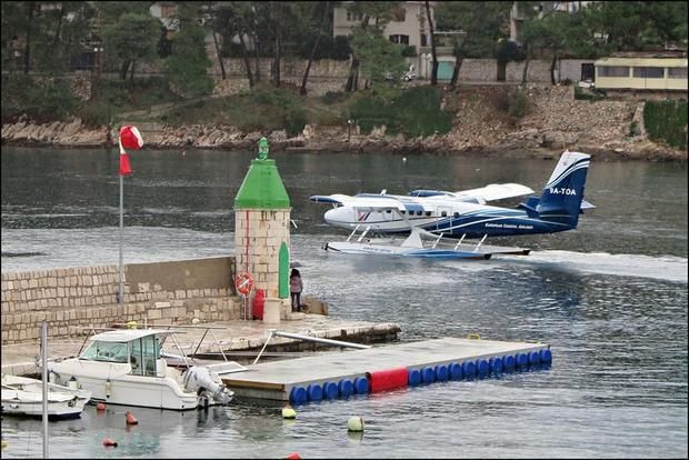 Europe s first scheduled seaplane service from Jelsa on Hvar to a seaport near Split Airport has pro...